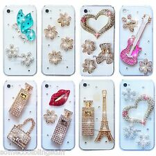BLING DIAMANTE HANDBAG PHONE CASE COVER FOR SAMSUNG iPHONE SONY HTC 6S 7 S8 S10