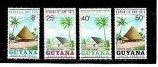 Guyana Stamps- Scott # 172-175/A36-Set-Mint/VLH-1973-OG