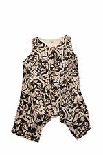 Avenue Women's Black/White Sleeveless Asymmetrical Hem Blouse Sz (18/20) Plus
