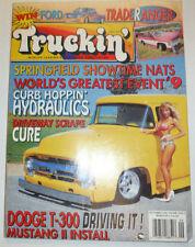 Truckin' Magazine Springfield Showtime Nats Dodge T-300 September 1993 041315R