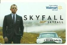 walmart skyfall 007 movie 2012 COLLECTIBLE Gift Card New No Value