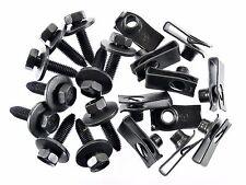 Body Bolts & U-nut Clips for Nissan- M8-1.25 x 30mm Long- 13mm Hex- 20 pcs- #155