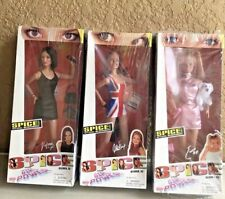 Spice Girls On Tour Dolls Lot Of 3 - Emma, Geri, & Victoria  - New Unopened