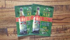 2x Bulldog B4 ENGLISH ALE Beer Yeast ~Imported from UK.  Not available in US