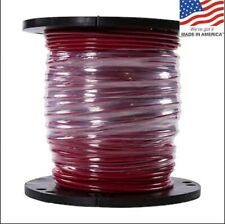NEW Southwire SIMpull 500-ft 6-AWG Stranded Red Copper THHN Wire 600V 75A