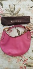 EUC gucci handbag pink