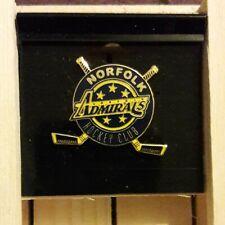 Norfolk Admirals Hockey Club Pin