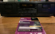 *Tested* Pioneer Ct-W770 Stereo Dual Cassette Deck Recorder With Dolby/ w Blank