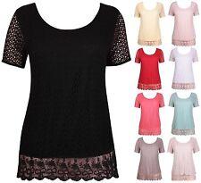 Kurzarm Damenblusen, - tops & -shirts im Tuniken-Stil für Business taillenlange