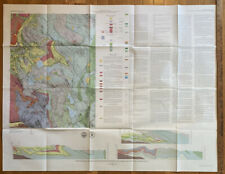 Vintage Map Of The South Sandisfield Quadrangle, MA & CT 1979