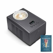 Springlane Emma Eismaschine Kompressor Eis Maschine Eismacher Sommer Anthrazi jm