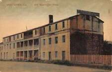 Monterey California Old Washington Hotel Exterior Antique Postcard K24944