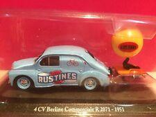 ELIGOR SUPERBE RENAULT 4CV  BERLINE COMMERCIALE 1951 1/43 NEUF SOUS BLISTER H5