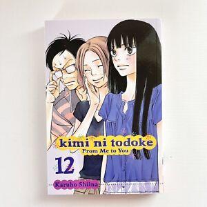 Kimi Ni Todoke Manga vol 12 Graphic Novel Anime Book From Me To You Sadako
