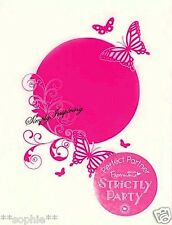 NEW ✿ Docrafts Butterfly Flourish Embossing Folder ✿ For Cuttlebug & Sizzix ✿