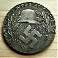 W.W.2 GERMAN COLLECTORS COIN REICHSMARK 1933 AHITLER