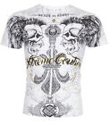 Xtreme Couture AFFLICTION Men T-Shirt REVERENCE Skull Tattoo Biker UFC M-4XL $40