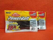 BERKLEY POWERBAIT BOTTOM HOPPER(4.75IN) SPRAYED GRASS (15CT)(2PK'S)#1457584