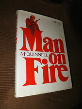 Man On Fire by A. J. Quinnell 1980 HC/DJ 1st edition 1st printing