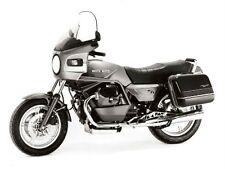 1987 Moto Guzzi 1000 SP original press photo + info