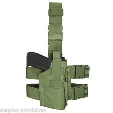 Condor TLH Tactical Leg Holster OD Green - Adjustable for M to L pistol