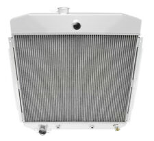 1957 1958-1960 Ford F-100 Pickup Truck Polished Aluminum 3 Row Champion Radiator