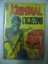 KRIMINAL FUMETTO NOIR N. 68 EDITORIALE CORNO 1966 - FUM0