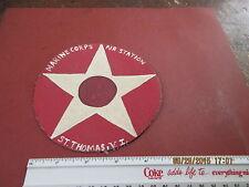 WWII USMC MARINE CORPS AIR STATION ST.THOMAS V.I.   FLIGHT JACKET PATCH