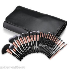 Ovonni 24Pcs Superior Soft Cosmetic Makeup Brush Kit Set Foundation Brushes +Bag