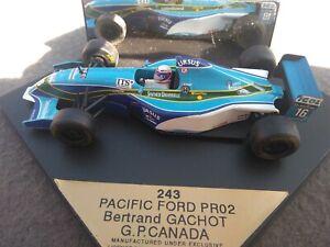 1:43 Formula 1 Onyx Pacific Ford PR02 Bertrand Gachot Canada GP