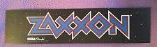 Zaxxon Arcade Marquee sticker. 2.5 x 10.5. (Buy any 3 stickers, Get One Free!)