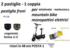 PASTIGLIE FRENO A DISCO MONOPATTINO ELETTRICO -  Mountain Bike Shimano SAGOMATE