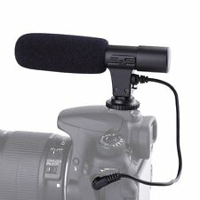MIC-01 External Stereo Microphone For Canon 760D 750D 700D 650D 80D 70D 5D 6D 7D