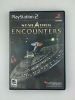 Star Trek Encounters - Playstation 2 PS2 Game - Complete & Tested