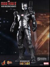 Iron Man 3 12 inch Figure 1/6 Scale Diecast MMS - War Machine Mark II Hot Toys