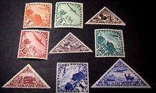 Tannu Tuva Stamp Scott# C1-C9  Designs 1934  MH C381