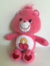 "10"" Care Bear Pink Plush Toy ""Secret Bear"""