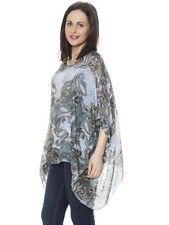 Paisley 100% Silk Tops & Blouses for Women