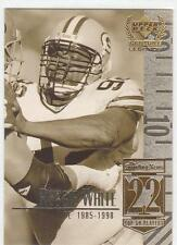 REGGIE WHITE 1999 Upper Deck Legends card #22 Green Bay Packers Football NR MT