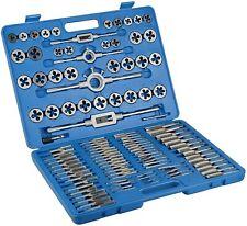 110PC Tap and Die Combination Set Tungsten Steel Titanium METRIC Tools