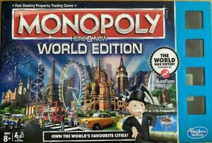 Monopoly Here & Now World Edition - Hasbro (2015) Spare Parts