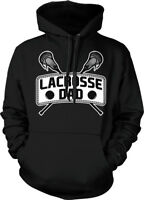 Lacrosse Dad - Proud Sports Father Lax  Daddy  Hoodie Pullover