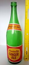 Domino Dry Ginger Ale Bottle 30oz. Dominion Grocery Store Canada has Paper Label