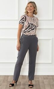 Anna Rose Straight Leg Trousers 29 inch  - Ladies Womens - Klass Collection