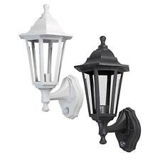 Traditional Vintage E27 Outdoor Wall Lights IP44 Garden PIR Dusk to Dawn Lantern