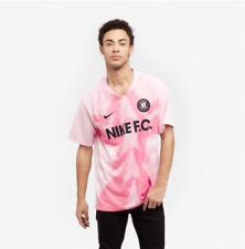 NEW NIKE FC MEN'S T-SHIRT XXL 2XL PINK FOAM AO0666-663 SOCCER FOOTBALL