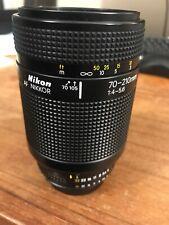 Nikon NIKKOR 70-210mm f/4.0-5.6 D AF Lens