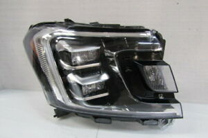 2018 2019 2020 FORD EXPEDITION FACTORY OEM RIGHT LED HEADLIGHT W/ SILVER TRIM T3