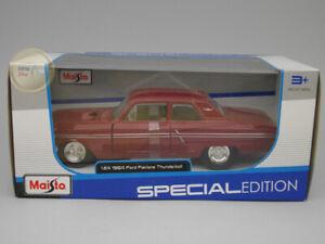 Ford Fairlane Thunderbolt (1964) - Maisto 1:24 - MA31957BU