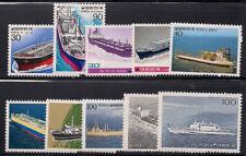 Korea 1981 Sc #1235-44 Ships VLH (8838-5)